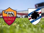 Roma Sampdoria streaming gratis live per vedere su link, siti web (aggiornamento)