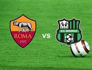 streaming Roma Sassuolo