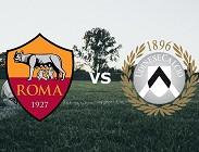 Streaming Roma Udinese diretta live gratis
