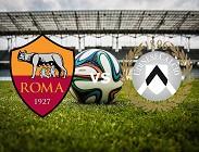 Roma Udinese streaming gratis live e dove vedere in chiaro diretta live