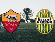 Roma Verona live streaming