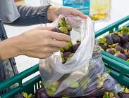 Sacchetti biodegradabili, spesa, supermercati