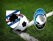 Sampdoria Atalanta streaming live gratis link, siti web. Dove vedere