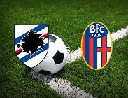 Sampdoria Bologna in streaming