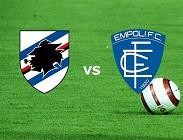 Sampdoria-Empoli streaming