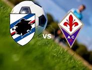 Sampdoria Fiorentina in streaming