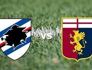 Sampdoria Genoa streaming live gratis link,, siti web migliori. Dove vedere