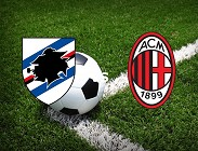 Sampdoria Milan diretta tv streaming Dazn