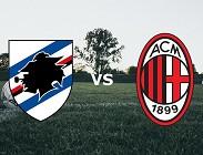 Sampdoria Milan siti web e link streaming