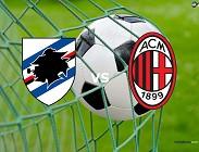 Milan Sampdoria streaming al via su link, siti web. Vedere live gratis adesso, ora che inizia