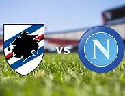 Sampdoria Napoli in streaming