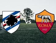 streaming Sampdoria Roma