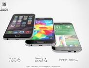 Samsung Galaxy S6, iPhone 6, Htc One, Nexus 5: prezzi e caratteristiche ufficiali a confronto
