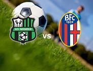 Sassuolo Bologna in streaming
