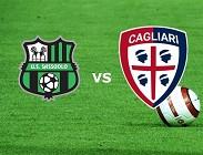 Sassuolo Cagliari in streaming