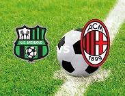 Sassuolo Milan streaming e in italiano gratis da vedere in tv (aggiornamento)