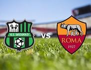 Sassuolo Roma streaming gratis live link, siti web. Dove vedere