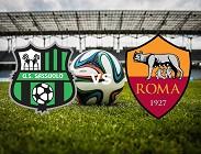 Sassuolo Roma streaming. Siti web. Dove e come vedere