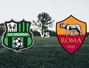 Sassuolo Roma streaming live gratis link, migliori siti web. Dove vedere