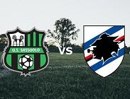 Sassuolo Sampdoria streaming