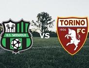 Sassuolo-Torino in streaming