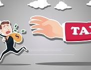 tasse, non pagare, siti web, blog