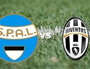 SPAL Juventus in streaming
