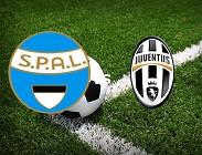 SPAL Juventus siti web e link streaming