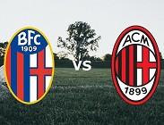 streaming Bologna Milan