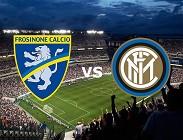 Frosinone Inter streaming gratis live. Dove vedere su siti web, link migliori