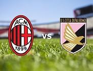 streaming Milan Palermo