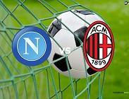 Napoli Milan streaming gratis live per vedere su siti web, link