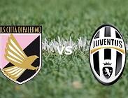 Palermo Juventus streaming live gratis per vedere