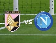 Palermo Napoli streaming gratis live. Dove vedere su siti web, link