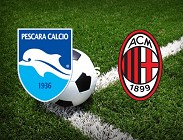 streaming Pescara Milan