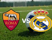 Streaming Roma Real Madrid live gratis. Dove e come vedere diretta