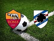 Roma Sampdoria streaming live diretta gratis. Dove vedere diretta
