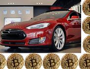 Tesla Model S per minare Bitcoin