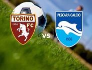 Torino Pescara in streaming