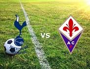 Tottenham Fiorentina streaming live gratis diretta migliori siti web, link. Dove vedere