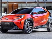 Toyota Aygo X: versioni e prezzi