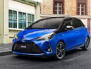 Dotazione di serie per Toyota Yaris