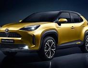 Motori e consumi Toyota Yaris Cross
