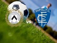 Udinese Empoli streaming. Dove vedere