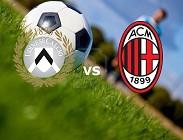 streaming Udinese Milan