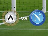 Udinese Napoli streaming gratis live link, siti web migliori. Dove vedere