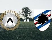 Udinese Sampdoria in streaming