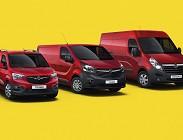 Furgoni Opel in uscita