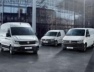 Volkswagen Trasporter, Caddy Furgone e Crafter
