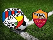 Viktoria Plzen Roma streaming gratis live. Dove vedere link, siti web